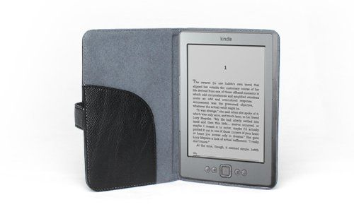 Accessorise Tm Slim And Light Weight Kindle 4th Generation Black Leather Case With Self Adhesion By Accessorise Your Life 3 99 Accessorise Presents To You