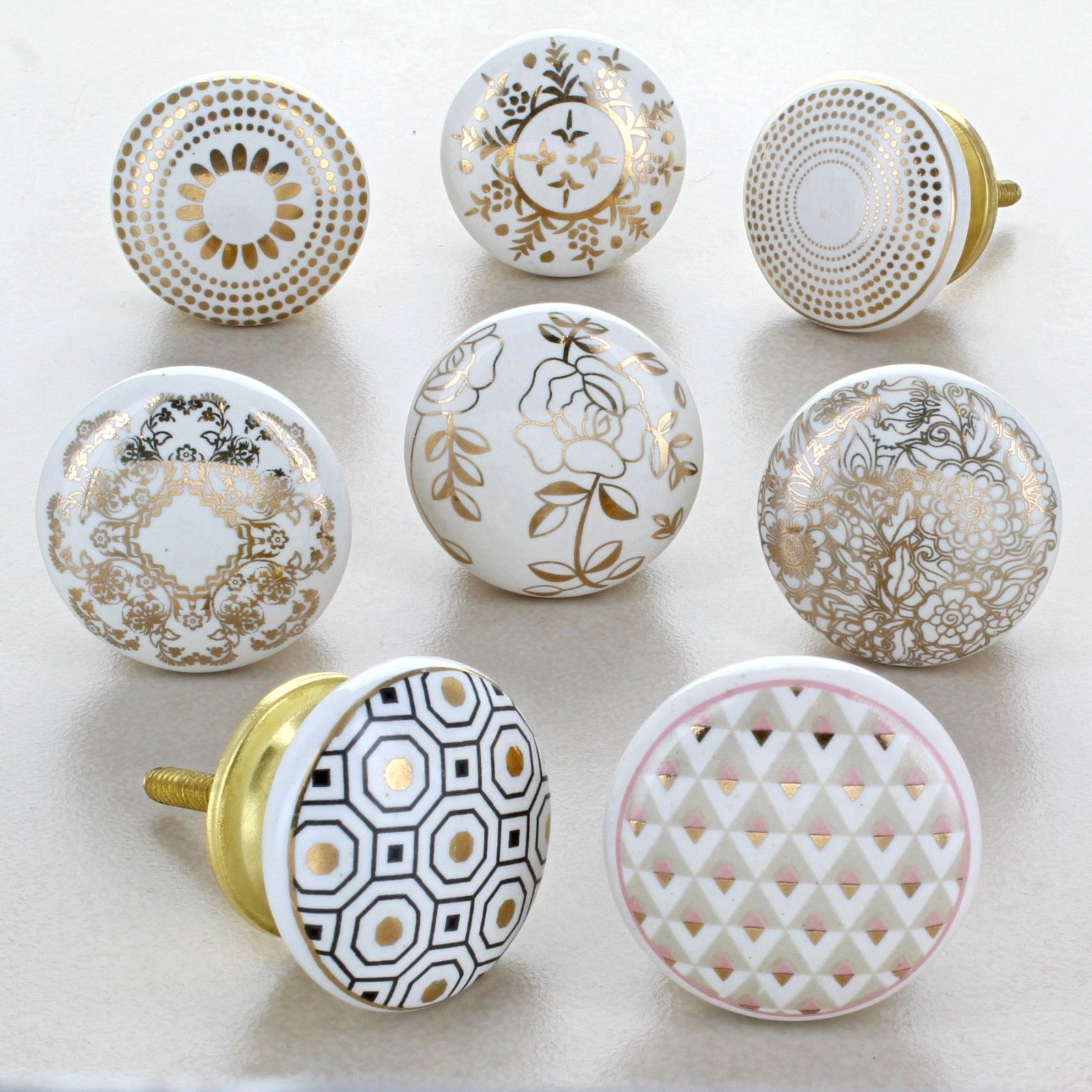 Royal Gold Cupboard Door Knobs Kitchen Door Handles Cupboard Drawer