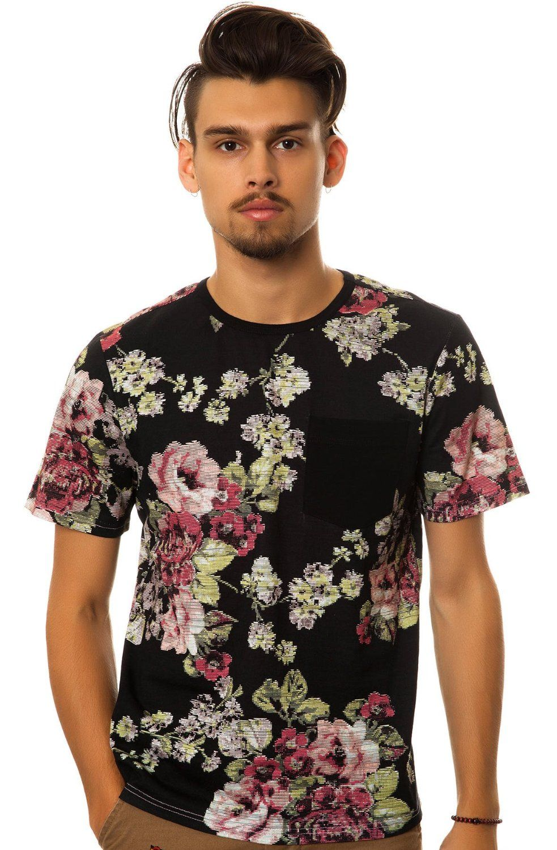 Elwood Men's Digi Floral Tee: Clothing
