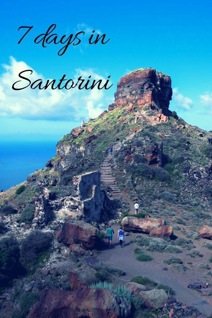 Seven Days In Santorini | Stylish Traveler | Travel ...