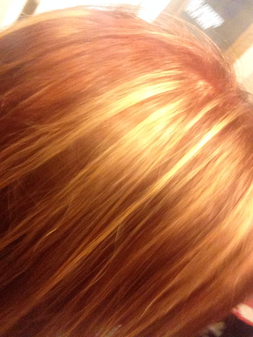 Copper Red And Honey Blonde Highlites Hair Hair Curly