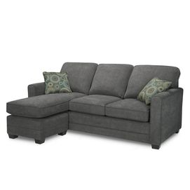 Stirling Queen Sofa Bed With Chaise Condo Living Room Sofa