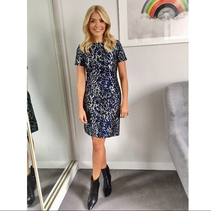 Holly Willoughby (@hollywilloughby) | Morgan black boot