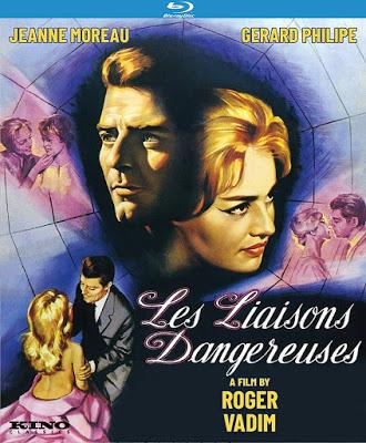 Dvd Blu Ray Les Liaisons Dangereuses 1959 Starring Jeanne Moreau French Cinema Blu Ray Jeanne Moreau