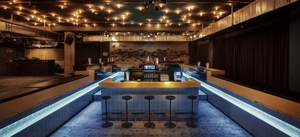 Nightclub Prince Charles In Berlin: With The Bar In The Pool