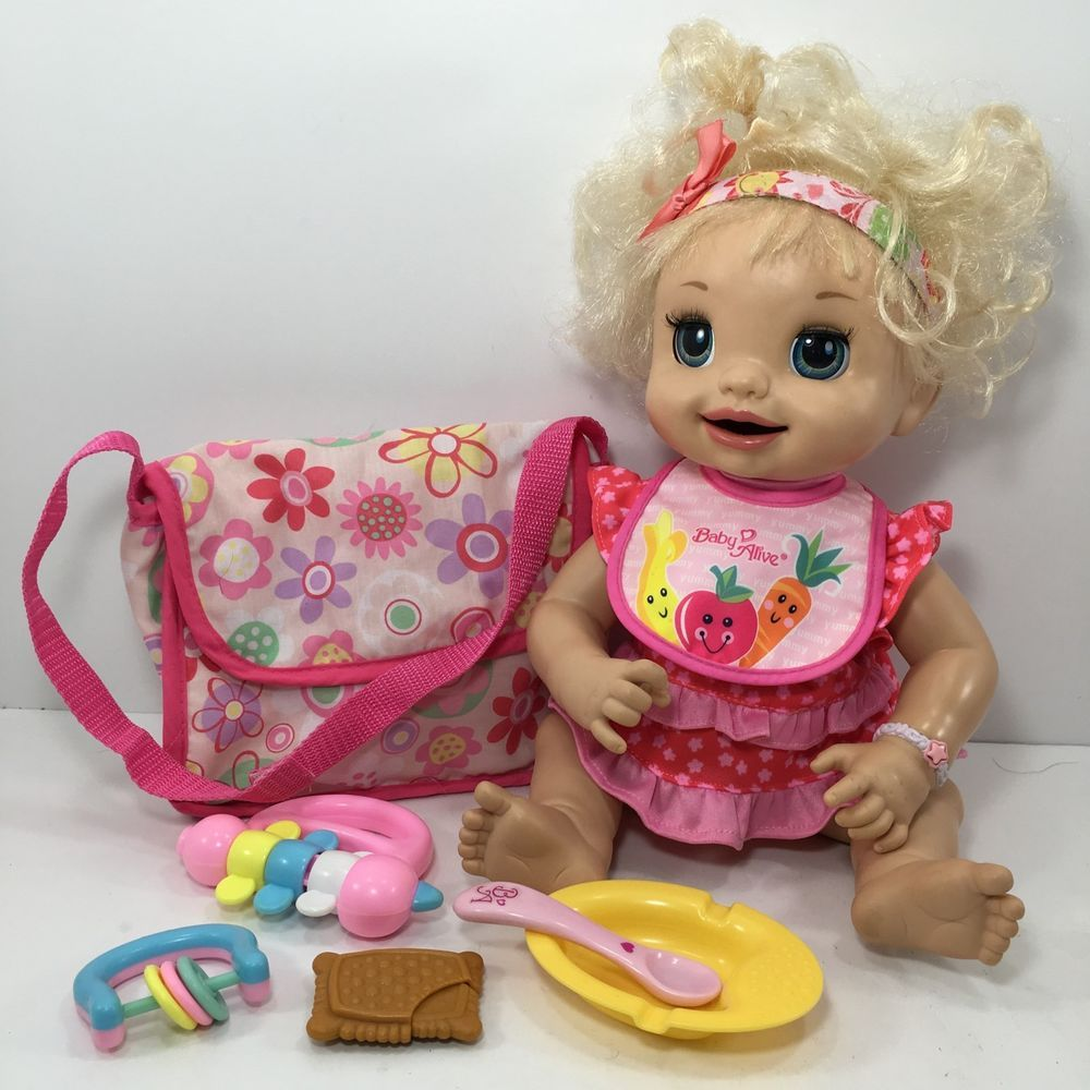 Baby Alive Learn Potty Doll 2007 Soft Face Talking Nice Works 16
