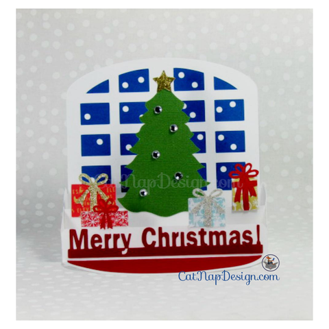 great 3 dimensional card for christmas oh christmas tree 3d card svg cutting