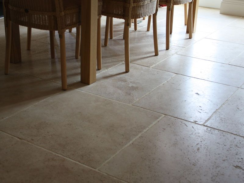 Travertine Tile Floor Ionian Travertine Floor Tiles Brushed And