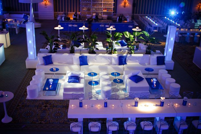 Client Appreciation Party Gets Branded Look Fixtures Made