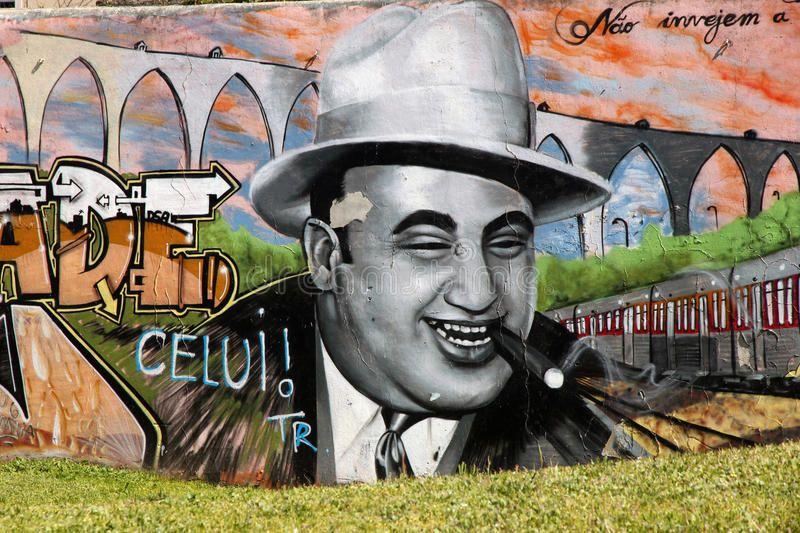 Al Capone Graffiti Al Capone Graffiti On A Wall In Lisbon Portugal Ad Graffiti Capone Al Portugal Lisbon Graffiti Design Art Drawing Al Capone