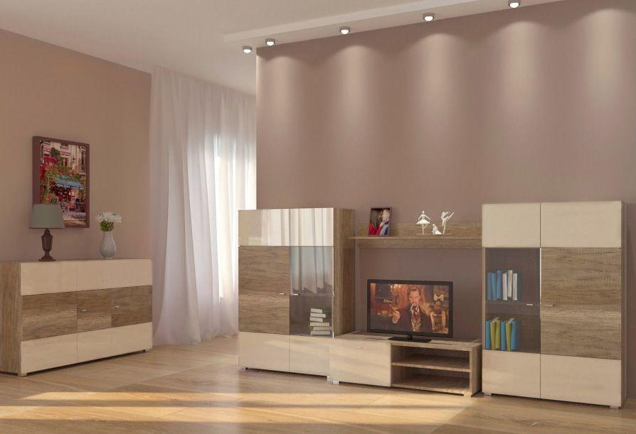 модульная мебель для гостиной Arte купить недорого в киеве белая