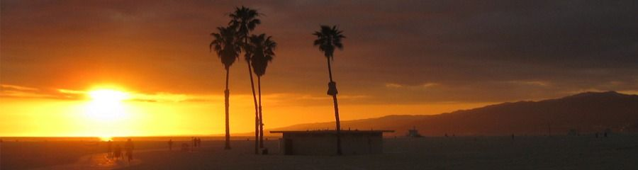 This was taken on our 2nd date at Santa Monica Beach at sunset...
