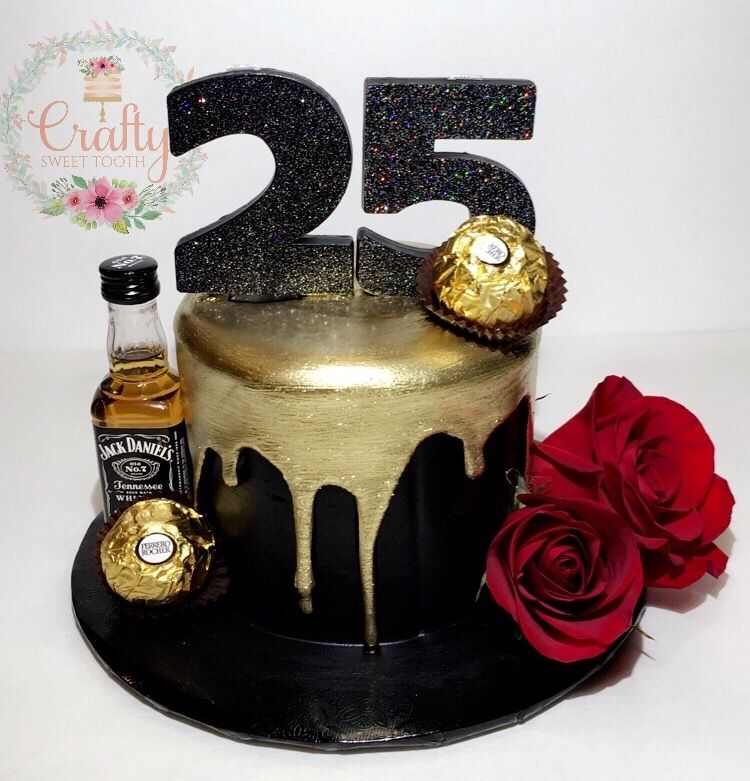 How To Make A Drip Cake To Wow The Party 25th Birthday Cakes