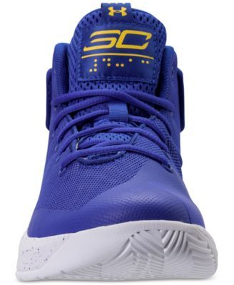 d14cee72da39 Under Armour Little Boys  Curry 3Zero Basketball Sneakers from Finish Line  - Blue 2.5