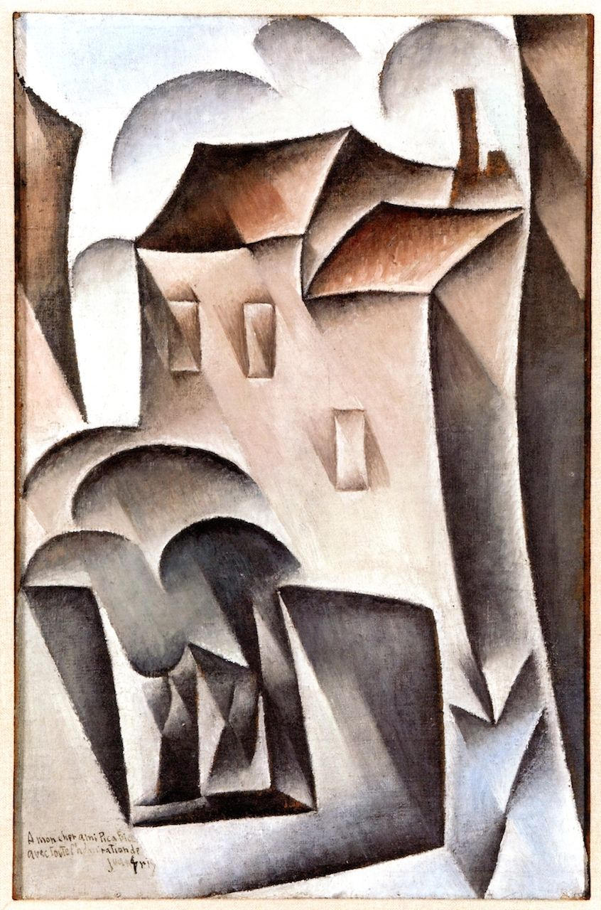 Cubismo Cuadros The Athenaeum Houses In Paris Place Ravignan Juan Gris