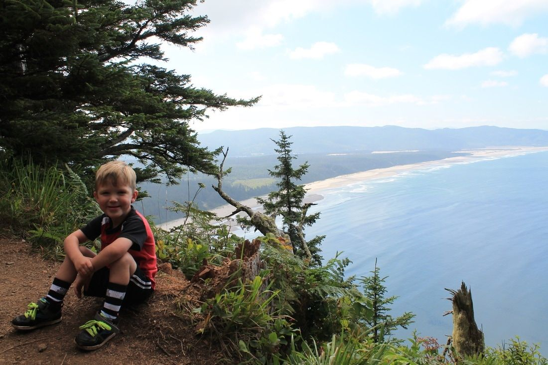 Cape Lookout Hike. Moderate 5 mile hike. Tillamook County