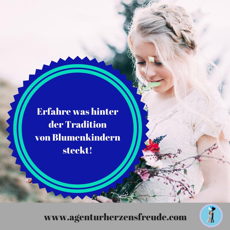 Erfahre Was Hinter Der Tradition Von Blumenkindern Steckt Heiraten In Danemark Heiraten Und Blumen