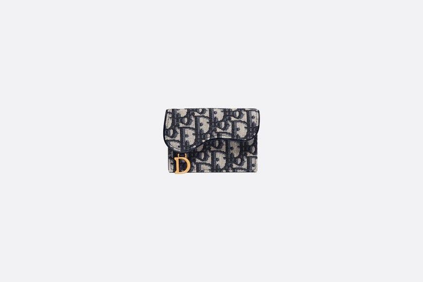 Dior Oblique Saddle Card Holder Dior Dior Card Holder Designer Wallets