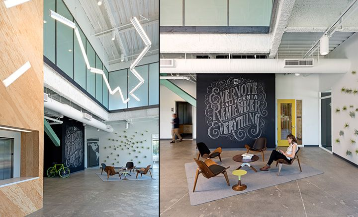 Evernote office by O+A, Redwood City, California