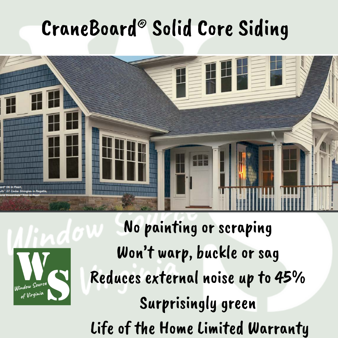From The Curb The Authentic Woodgrain Of Craneboard Solid Core Siding Displays Its Gorgeous Looks With Any Archi Exterior Renovation Siding Replacing Siding