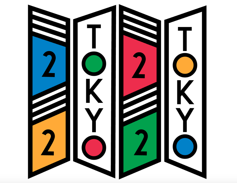 Tokyo 2020 Olympic Posters on Behance Japanese graphic