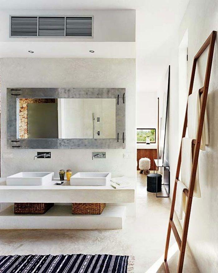 specchio per bagno con cornice | Bathroom Mirror | Bathroom ...