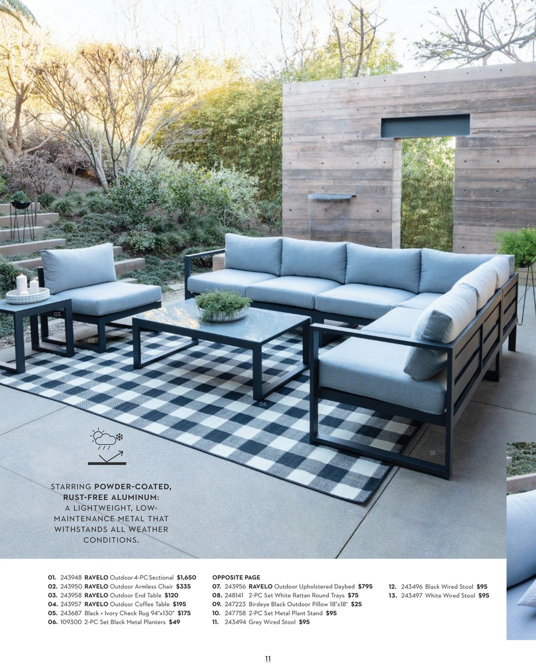 Living Spaces - Outdoor 2019 - Page 12-13 | Living spaces ... on Living Spaces Outdoor Daybed id=72234