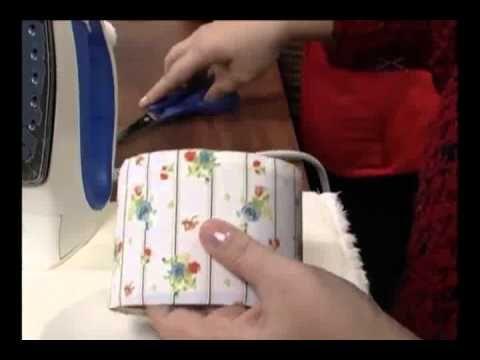 Caixa de Costura com Anjinho 1/3 VIVI PRADO - Programa Mulher.com (18/07/2012) - YouTube