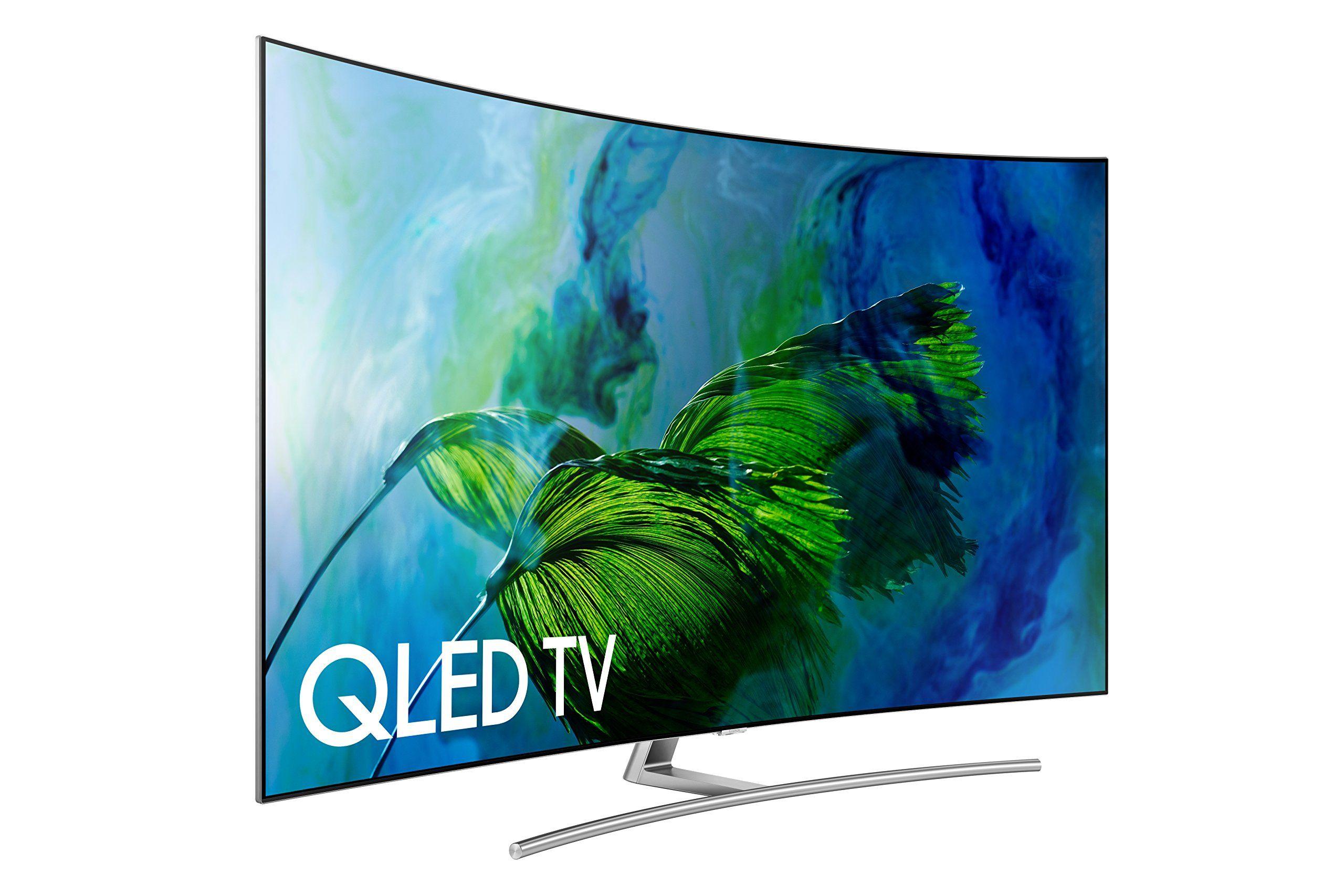 samsung qn65q8c curved 65-inch 4k ultra hd smart qled tv (2017