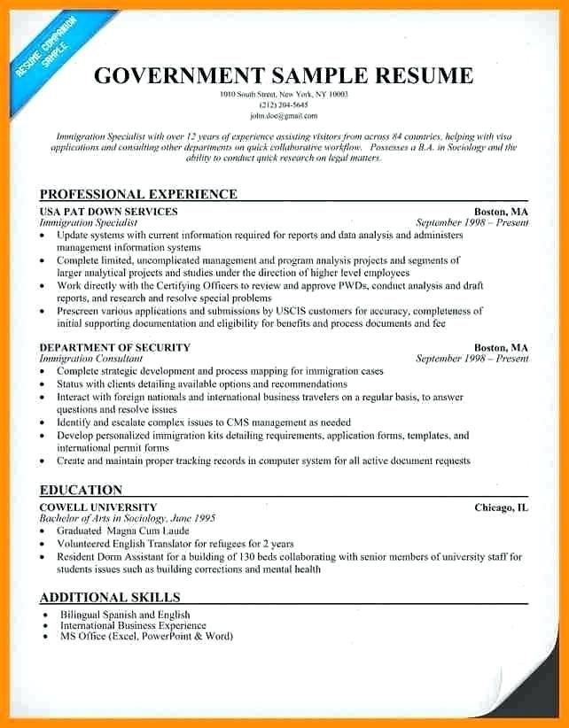 Free Resume Templates Government Resume Examples Job Resume Samples Job Resume Examples Resume Tips