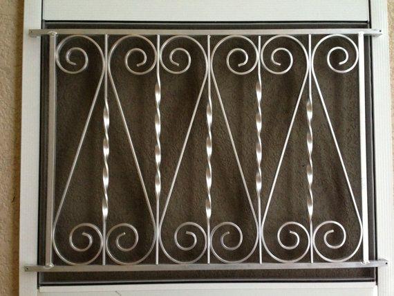 Screen Door Grille Vintage Inspired Ornate Scroll Design Etsy Screen Door Grilles Screen Door Decorative Screen Doors