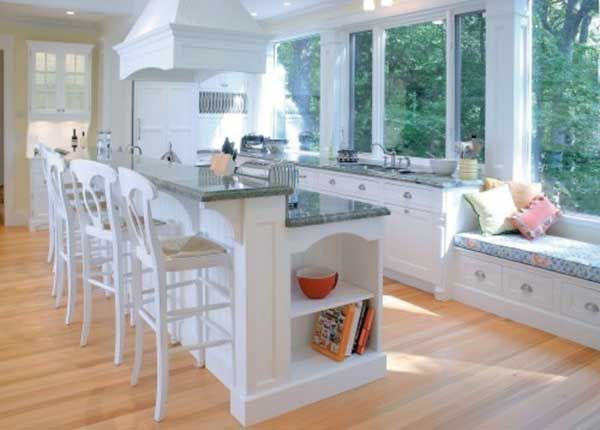 Great Modern Kitchen Island With Seating Design