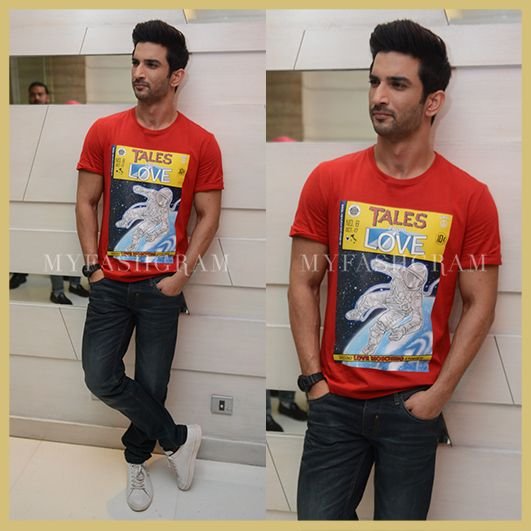 Image result for sushant singh rajput t-shirt""