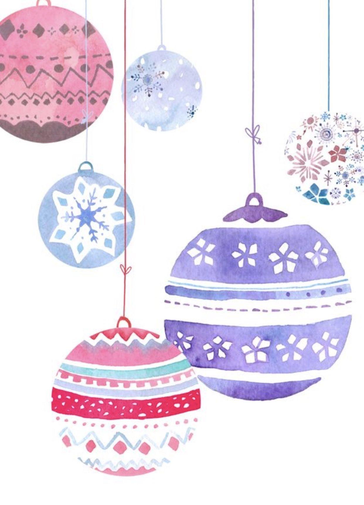 Ornaments   Christmas/Winter iPhone wallpaper ❄ ⛄   Pinterest