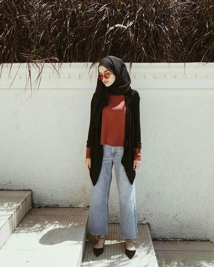 Fashion Modern Hijab Style 2018