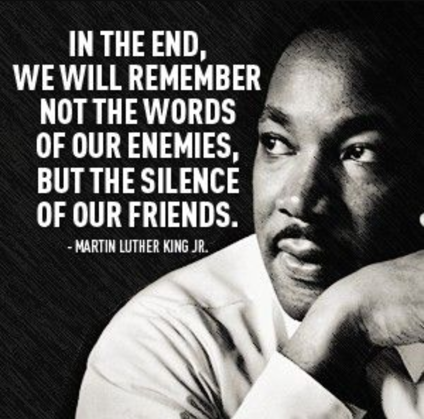 remembering the hero in martin luther king jr I would like people to remember that current events and our actions today will shape the future generations of happy martin luther king jr day.