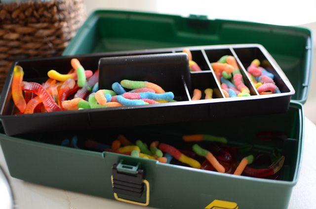 Fishing toolbox goodies