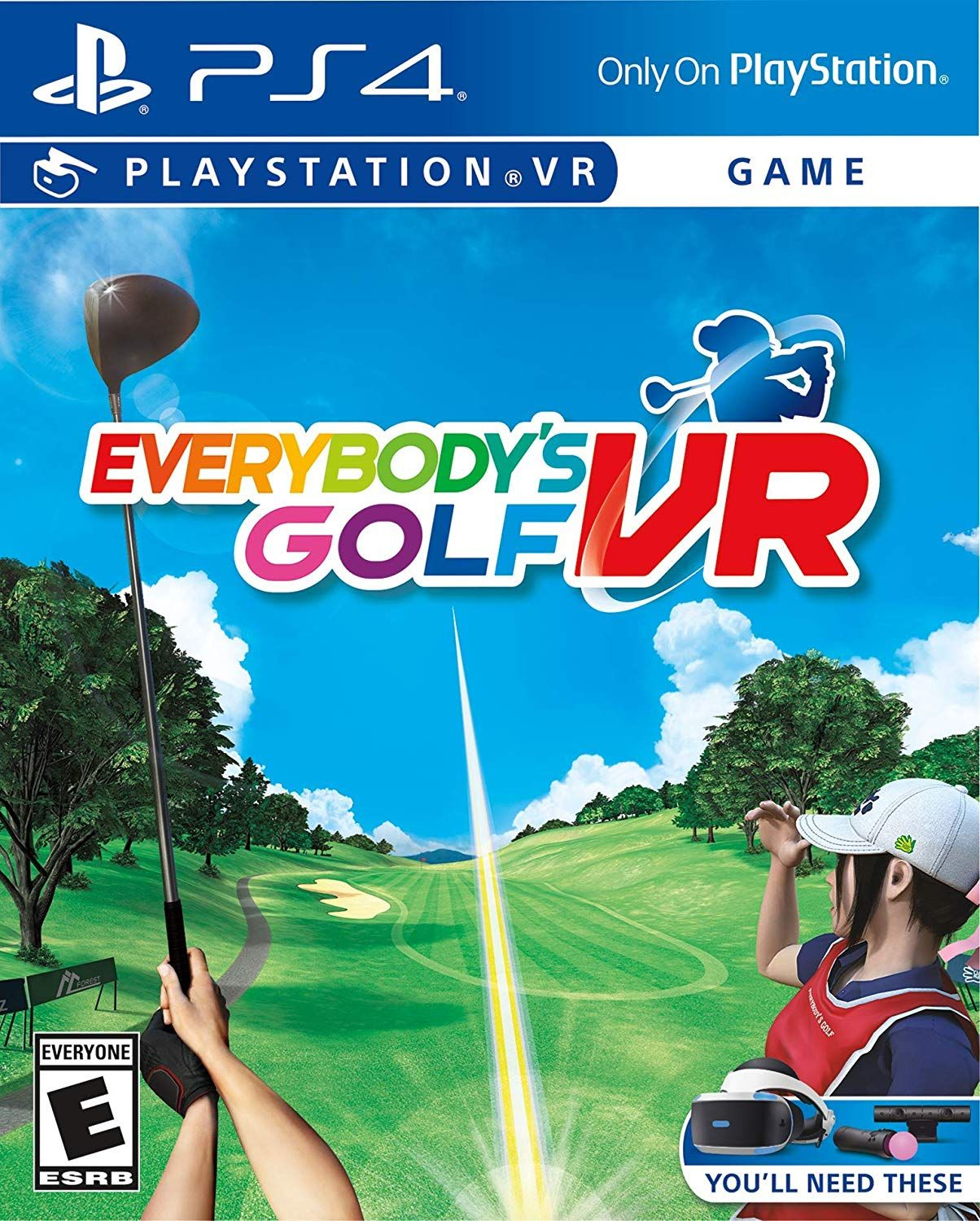 Everybody S Golf Vr Golf Games For Kids Playstation Vr Playstation