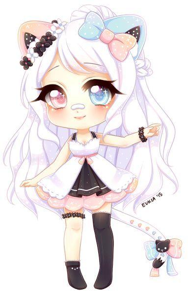 dessin manga chibi fille