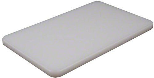 Bar Board The Color Is White Made Of Plastic American Metalcraft Bb6105 Rectangular Pressed Cutting