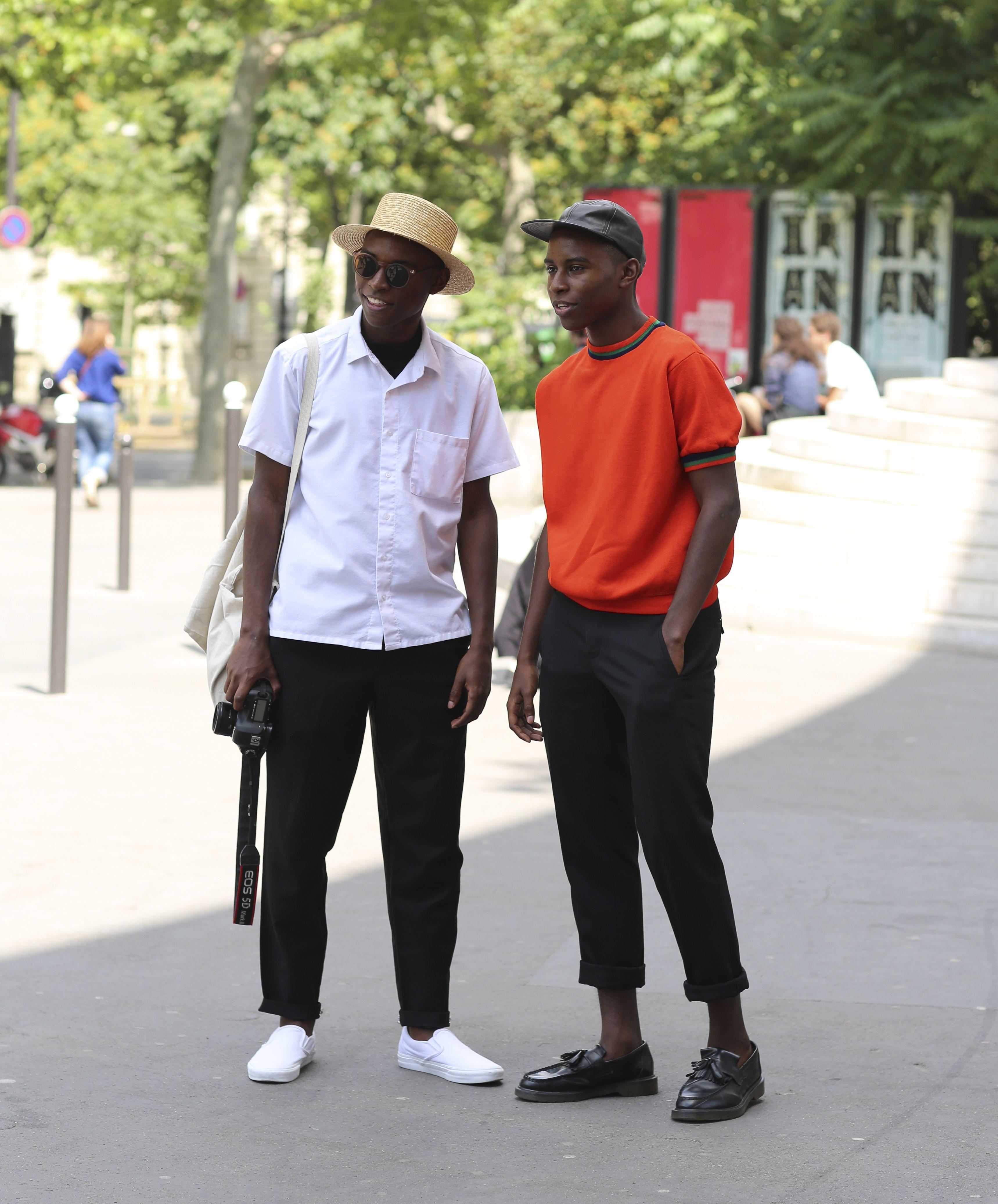 Paris Men's Fashion Week. (Photo: Lee Oliveira for The New York Times)