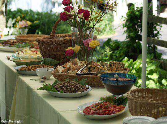 Celebrar una merienda de comunion en casa buscar con for Casa jardin buffet