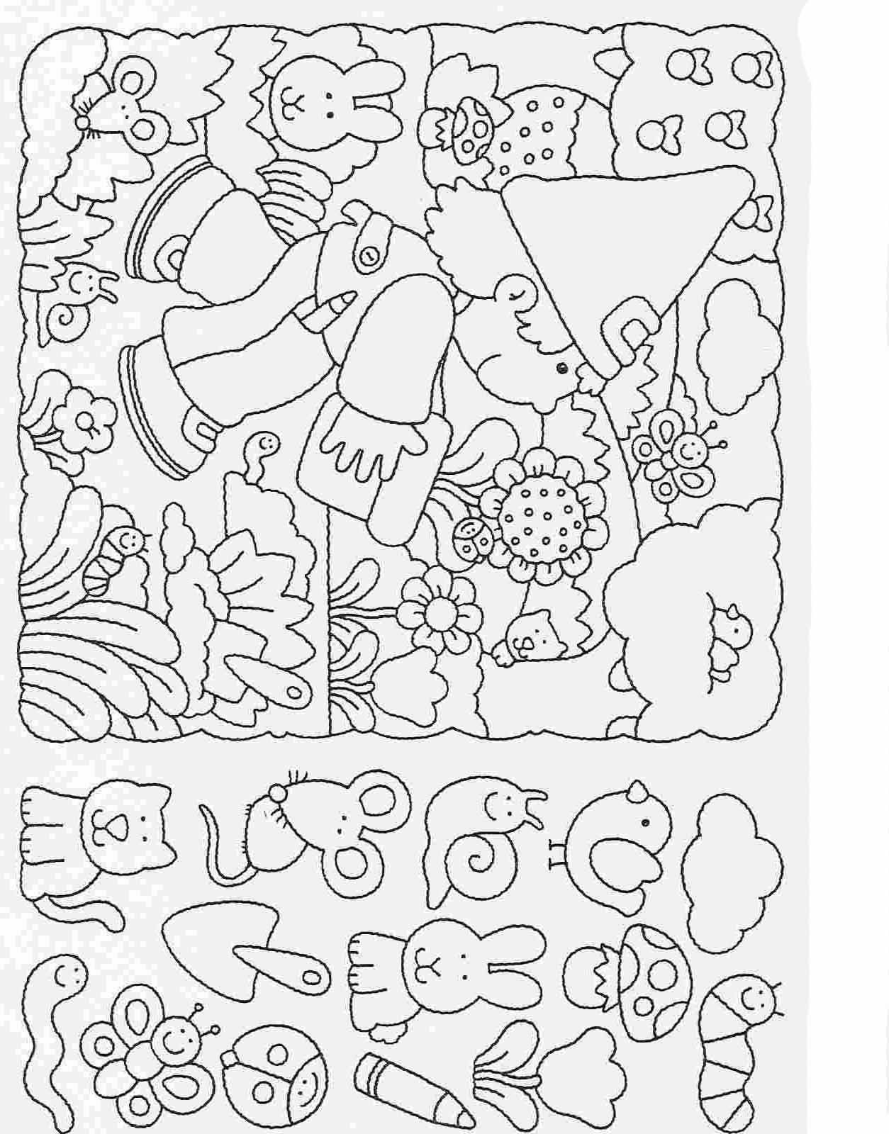 Elementary School Worksheets Complete And Coloring 25