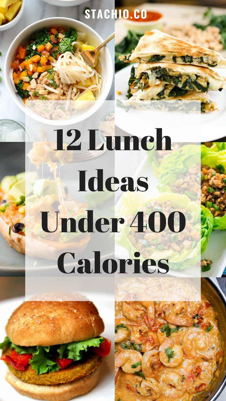 12 Lunch Recipes Under 400 Calories images