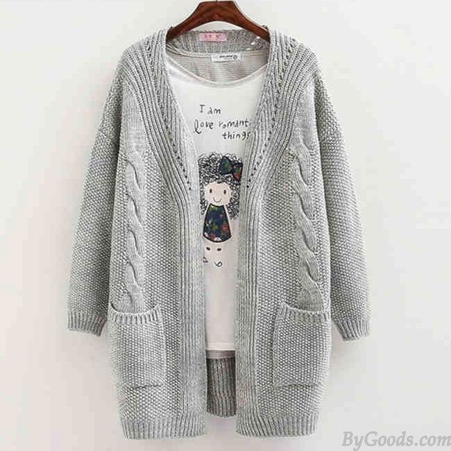 Wow~ I like Women Long Sleeve Knitted Cardigan Loose Sweater Outwear Coat  Sweater only  27.99 from ByGoods.com! I like it  3! Do you like it 4c67425bb