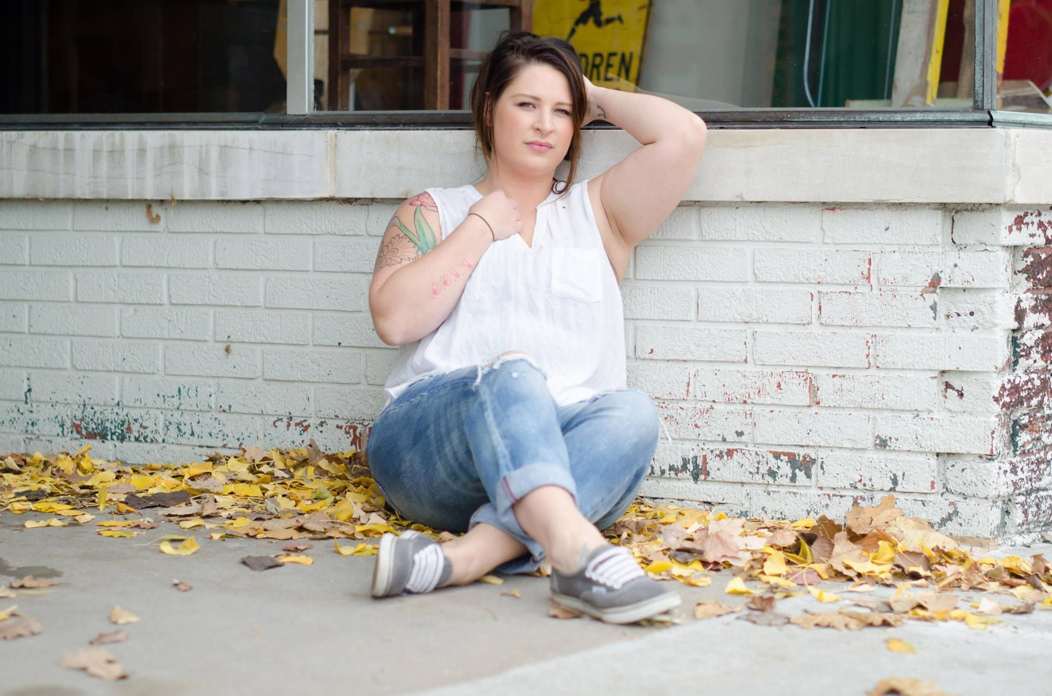 Kristen, tattoo artist; INK INK Tattoos and Piercings