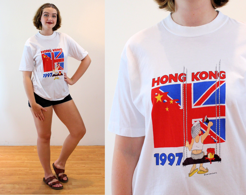 M  L Vintage Bow Floral Print Casual Boho Summer Tee Top 90s Novelty Khaki Loose Mod Blouse