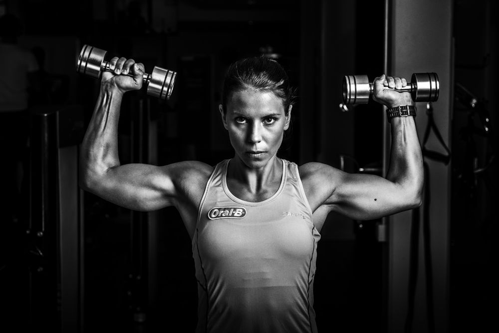 Charlotte Kalla Muscles