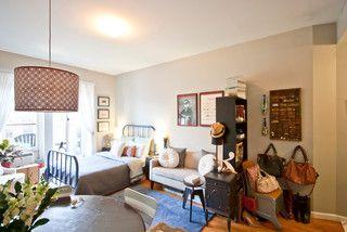 Michelle Konar S Upper West Side Studio Contemporary Living Room New York By Chris A Apartment Decor Inspiration Small Room Design Living Room New York