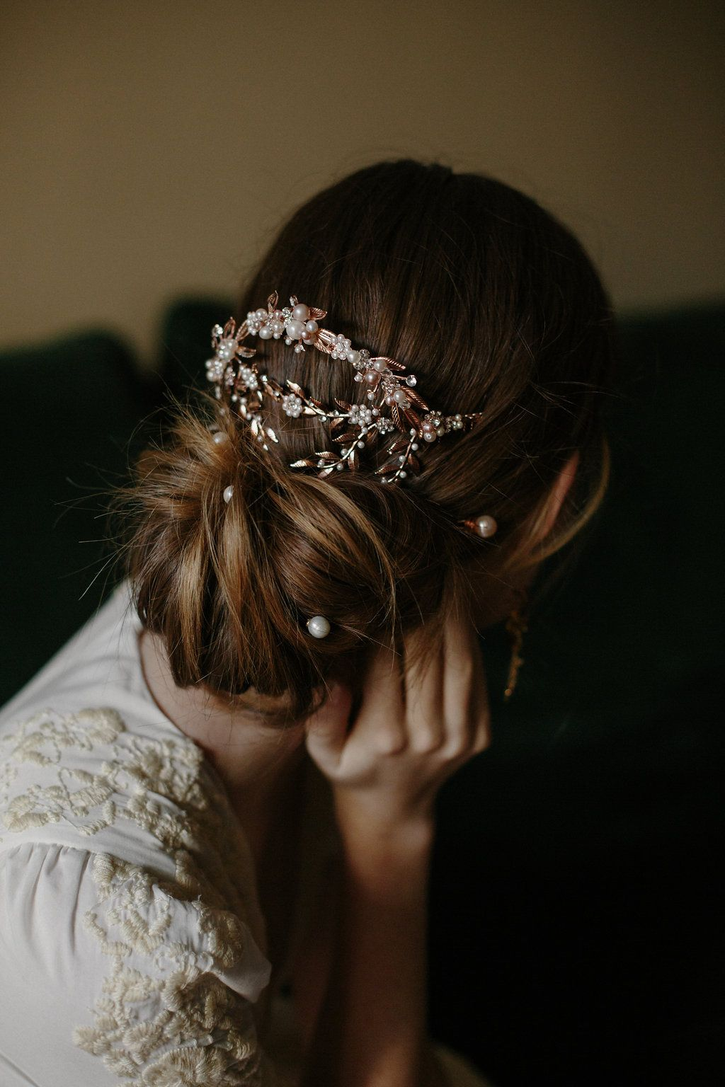 adelaide back mantilla bridal hair comb | weddings & romance